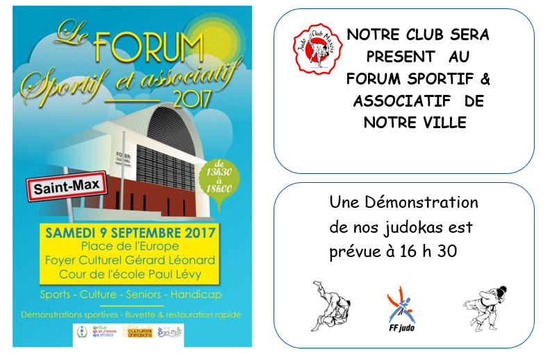 forum des sports 9 septembre 2017
