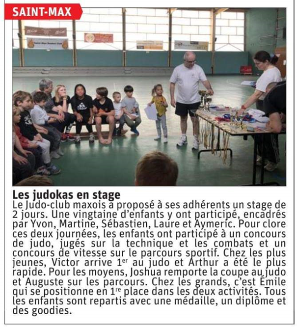 stage paques 2019